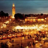 Marrakech dans un riad de charme.