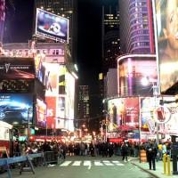New York – Les 12 coups de minuit à Times Square