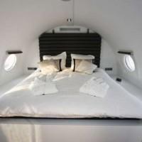 Un avion entier transformé en suite romantique en Hollande.
