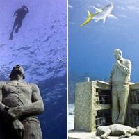 Un musée sous-marin à Cancun