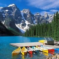 Le lac Moraine : un endroit exceptionnel qui changera à jamais votre vision des vacances exceptionnelles.