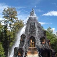 L'hôtel de la montagne magique au Chili.
