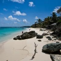 L'île de Mustique dans la Mer des Caraïbes
