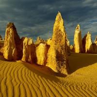 Un désert très original en Australie.