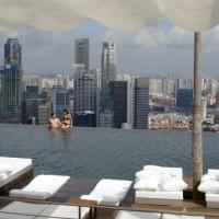 Singapour dans la plus grande piscine du monde!