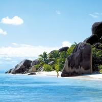 Les Seychelles – Petite île granitique
