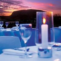 Un dîner au son du silence en Australie