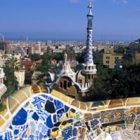 Barcelone dans un hôtel grand luxe.