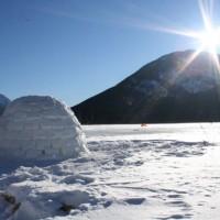 Passer une nuit dans un igloo en Haute-Savoie!